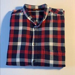 Barena Men's Check Shirt
